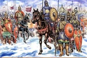 войско князя Игоря