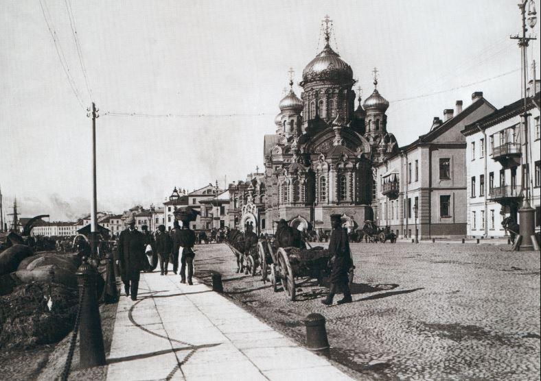 Раскольников на Васильевском острове
