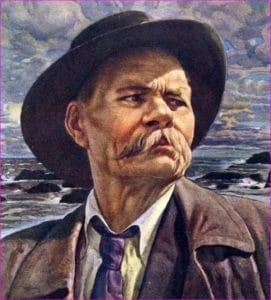 Портрет Горького